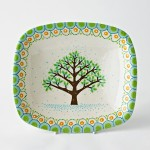 Summer Tree Serving Dish