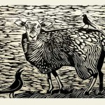 Crow, Sheep and Bird