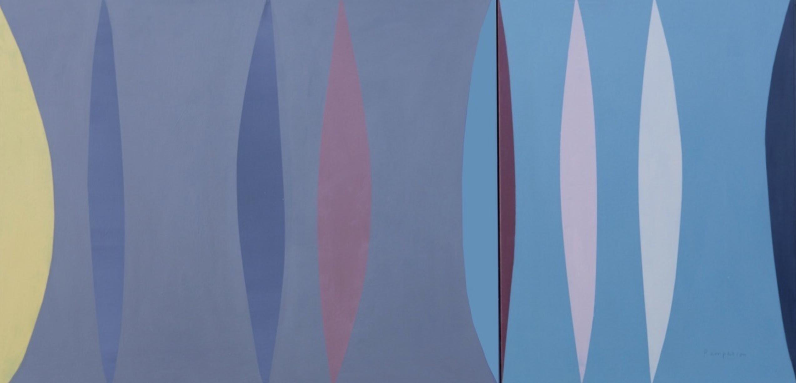 Porthmeor mixed media on canvas 80 x 160 cm £7,950