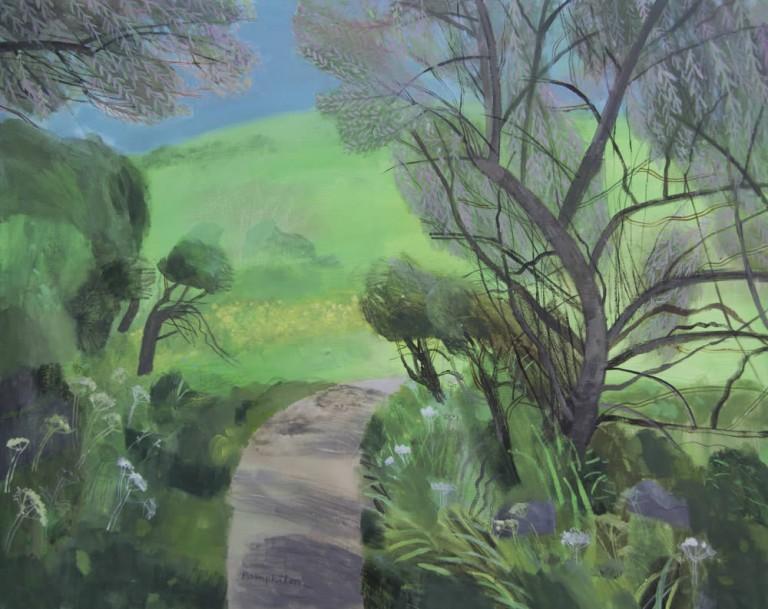 Tamarisk Arch Gurnards Head mixed media on canvas 80 x 100 cm £4,950